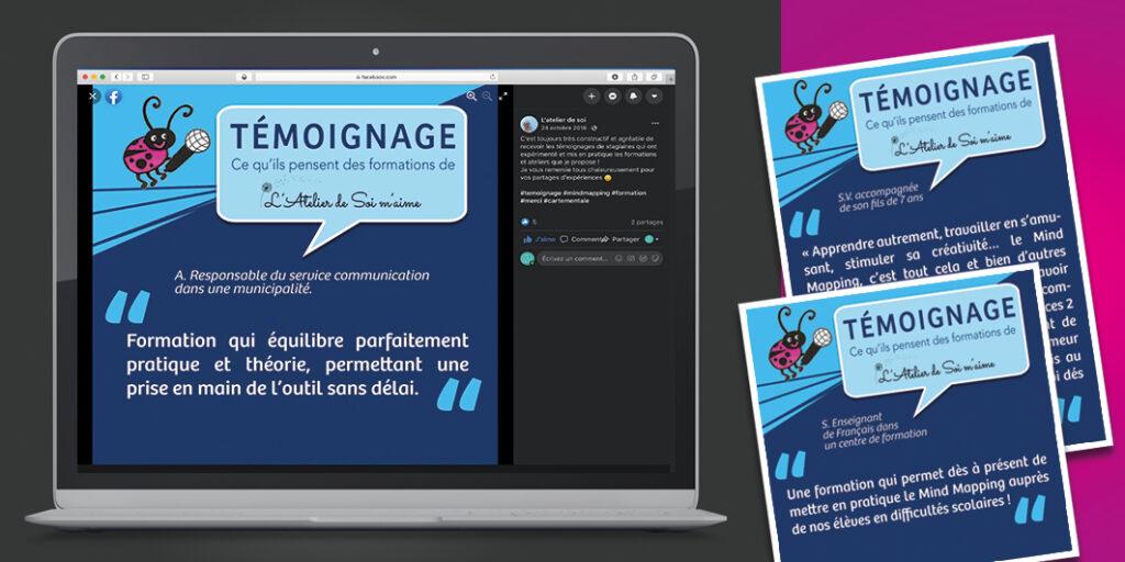 : Visuels pour campagnes réseaux sociaux