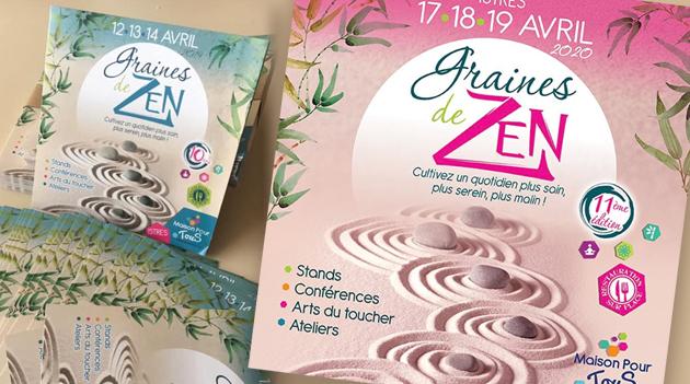 """: Campagne pour l'évènement """"Graines de Zen"""""""