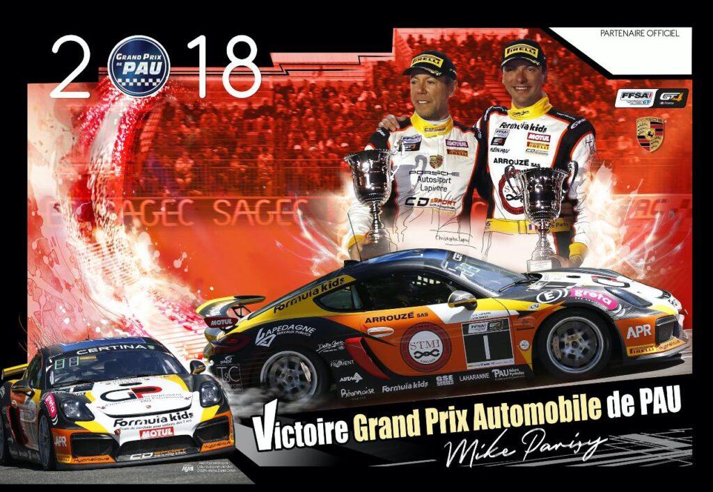 : Poster pour Mike Parisy, avec Phauto Sport